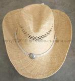 カナダのわらの波の帽子の人メンズカウボーイの麦わら帽子の昇進か安い帽子