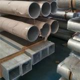 Personalizado tubo hueco cuadrado de aluminio