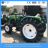 Venta al por mayor granja famosa de la marca de fábrica agrícola / caminando / diesel / compacto / césped / mini / paddy / neumático del jardín 4 tractor de la impulsión de la rueda