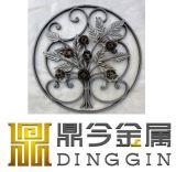 錬鉄の庭の装飾、窓の格子