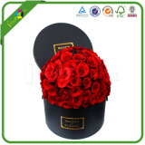 高品質はローズの花ボックス卸売を包む堅いペーパーギフトをカスタム設計する