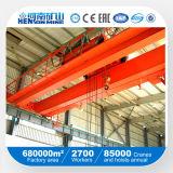 10ton China hizo la grúa de puente doble de la viga para el taller