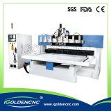 Máquina do CNC da gravura do cilindro da mesa do 4º eixo