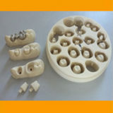 Suavizar la máquina useing Dental CAD CAM Fresado