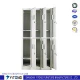 Yitong 6 문 금속 저장 내각/사무실 사용 강철 로커
