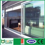 Цена алюминиевой раздвижной двери с двойным стеклом