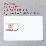 3G 4G WCDMA TD-SCDMA Lte Mikro-SIM Karte der Prüfungs-Karten-Telefon-Karten-für Agilent 8960