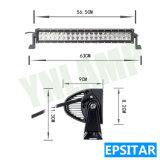 트럭을%s Epistar LEDs를 가진 24.8inch 120W LED 표시등 막대