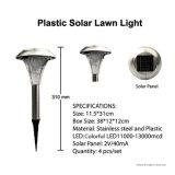 태양 스테인리스 색깔 변화 정원 말뚝 빛 (RS032)