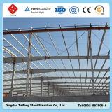 Costruzione prefabbricata strutturale d'acciaio del workshop