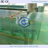 Verre professionnel en verre trempé et verre gravé aux acides et verre givré