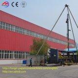 PLC는 특별한 기계를 회전시키는 자동적인 콘 관 생산 라인을 통제한다