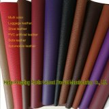 Cuoio del PVC del cuoio sintetico del PVC del cuoio della valigia dello zaino degli uomini e delle donne di modo del cuoio del sacchetto del fornitore Z090 di certificazione dell'oro dello SGS