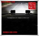 7 faro per SUV, camion dell'indicatore luminoso LED del lavoro di pollice 33W LED