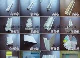 Linha da máquina da extrusão do painel de parede do tapume do mármore do vinil do PVC