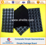 Non Woven Geotextile를 가진 HDPE Waterproof Drainage Membrane