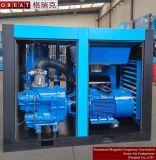 VFDの省エネの2ステージの圧縮回転式ねじ空気圧縮機