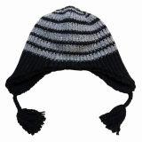سيدة [فشيون] [أكرليك] [ووول] [نيتّد] شتاء [بني] بيريه قبعة ([يك3114])