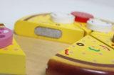 [ديي] خشبيّة عمليّة قطع بيتزا يزعم لعبة, جديد أطفال خشبيّة عمليّة قطع قالب لعبة, عمليّة قطع طعام لعبة لأنّ جدية لعبة