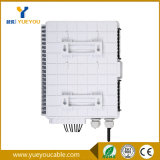 Anti-agua ABS Plastico Material 12 Fibras Caja de Terminacion /FTTH Distribution Box