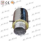 Duto flexível isolado alumínio para a ventilação