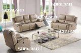 現代イタリアの革ソファーの家具(768#)