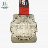 Изготовленный на заказ бронзовое медаль Jiu-Jitsu металла эмали для медали сувенира Канады