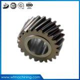 OEMの自動予備品CNCの精密ルーターの機械化のワームギヤ