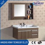 Module de salle de bains reflété par mélamine fixée au mur neuve de vanité