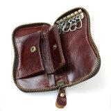 Бумажник держателя ключа кожи Mens цены по прейскуранту завода-изготовителя с карманн Cion