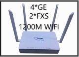 4*Ge를 가진 Gpon Ont를 집으로 돌아오는 1200m WiFi 섬유는 향한다 2*FXS 포트 2.5g (SGN7758VACG4)를