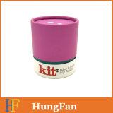 Коробка подарка изготовленный на заказ пробки цилиндрическая упаковывая бумажная/коробка подарка