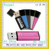 무료 샘플 고품질 1/2/4/8GB 플라스틱 USB (GC-P394)