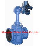 Válvula ANSI de aço inoxidável PTFE Sleeve Válvula (X41F)