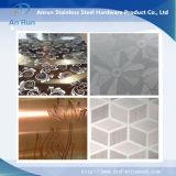 304/304L/316/316L repérant la plaque d'acier inoxydable