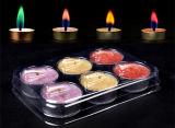 Цвет пламени для приготовления чая и лампа в форме свечи