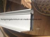 Profils en aluminium de anodisation anodisés par bâti d'extrusion pour Windows et la porte