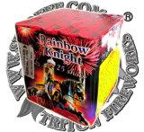 Rainbow Kinght 25s disparos de fuegos artificiales