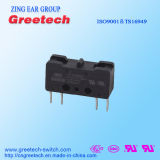 Interruptor micro 1no+1nc de Dpdt usado en el control de Industy