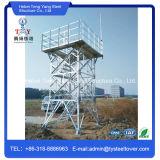 A alta qualidade galvanizou a torre celular do relógio do incêndio florestal
