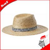 Chapéu de palha do Fedora de Panamá da palha do trigo