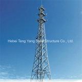 De uitstekende kwaliteit galvaniseerde Tubulaire Toren van het Staal van 3 Benen de Driehoekige
