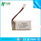 RCの無人機QuadcopterのためのRC電池802037 3.7V 380mAh Lipo電池