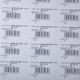 Profissão preço barato papel A4 código de barras e auto-adesivo adesivo para o supermercado/etiqueta de preço
