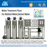 O dobro encena o sistema do tratamento da água (AK)