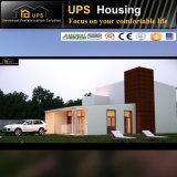Chalet moderno de la casa prefabricada del fabricante de China con el garage para África