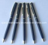 Laser Logo (M1004)를 가진 까만 Metal Pen Twist Metal Ball Pen Metal Pen