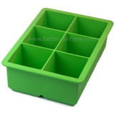 Bacs à cubes de glace à base de silicone personnalisés à base de nourriture