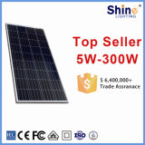 Панель солнечных батарей фотоэлементов 36PCS 150W поставщика 156*156mm Китая верхней части 1 поликристаллическая