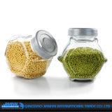 Vaso domestico di immagazzinamento in la bottiglia di vetro dell'articolo da cucina di uso